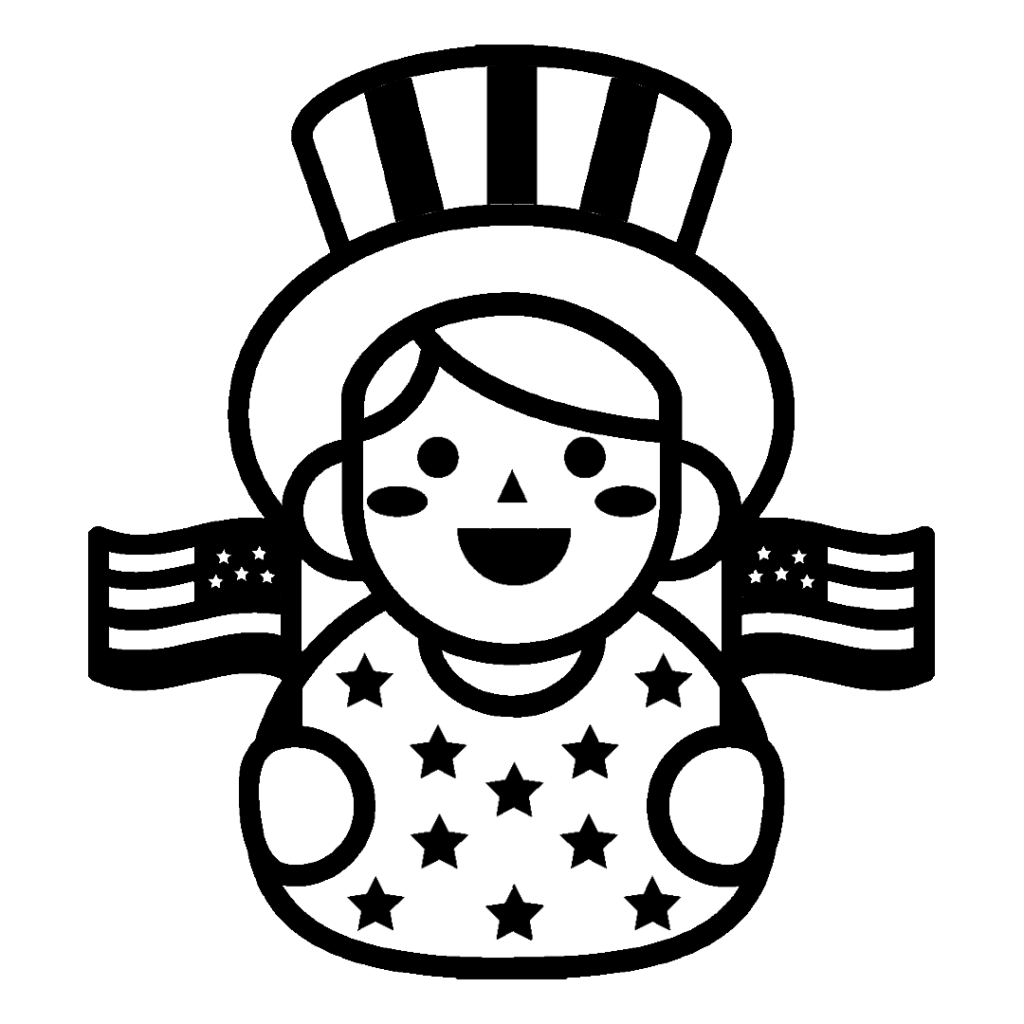 4th of July 2021 coloring pages