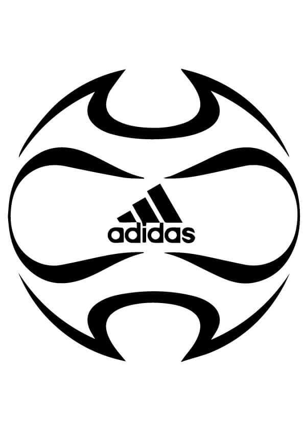 Adidas Soccer Ball Coloring Pages