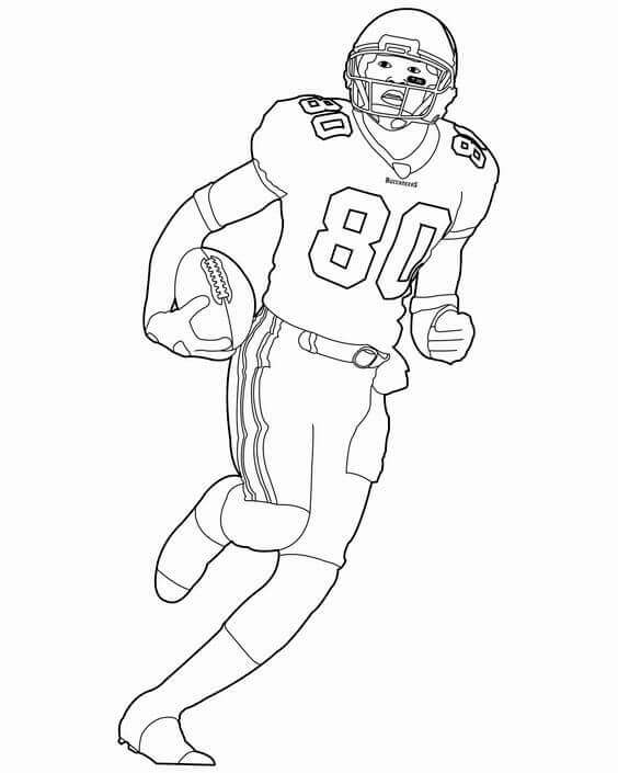American Football Coloring Pages Free