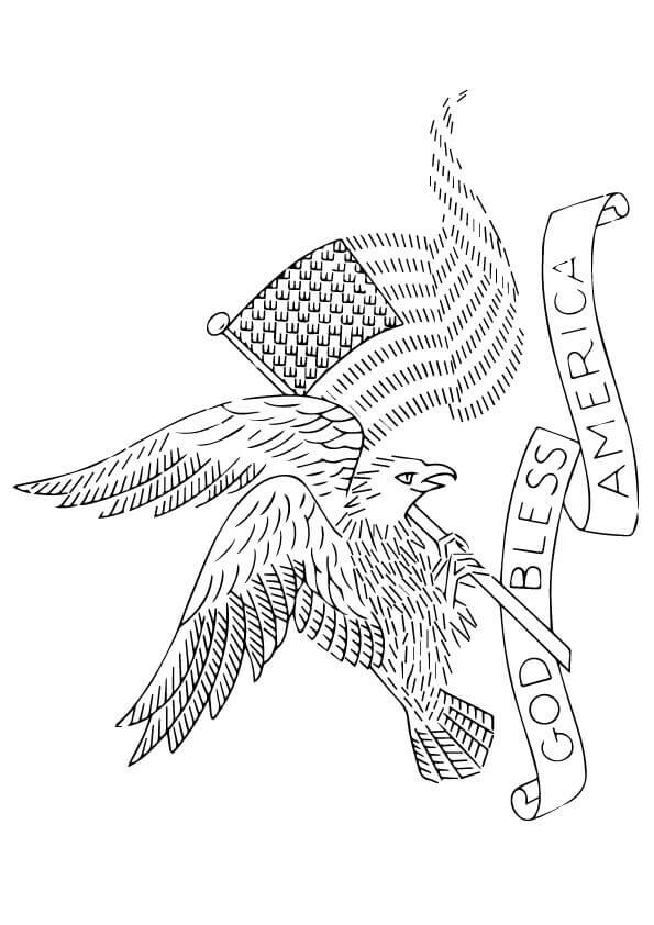 American Independence Day Coloring Pages