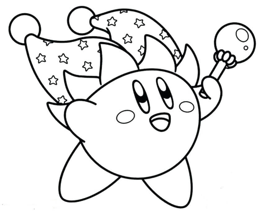 20 Free Printable Kirby Coloring Pages