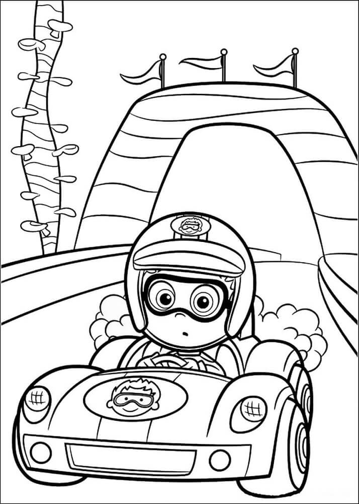 Bubble Guppies Coloring Sheets To Print