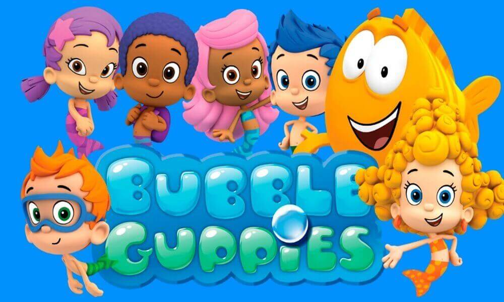 This is an image of Nifty Bubble Guppies Printables