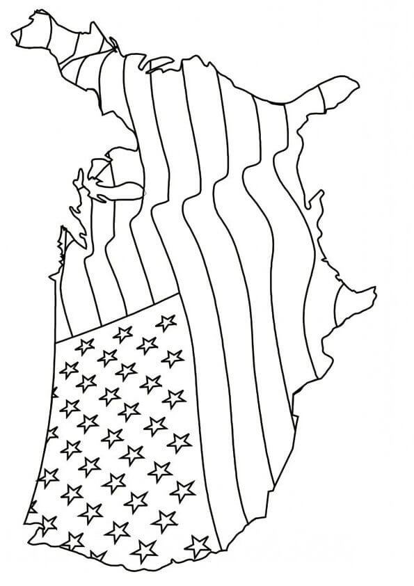 Coloring Pages Of 4th Of July