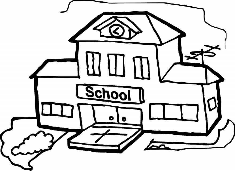 Coloring Pages Of Last Day At School