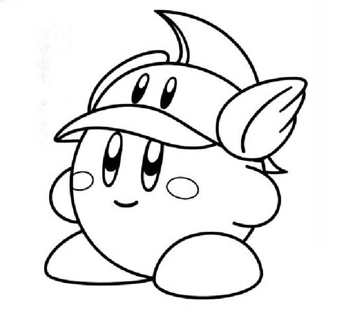 Cutter Kirby Coloring Pictures