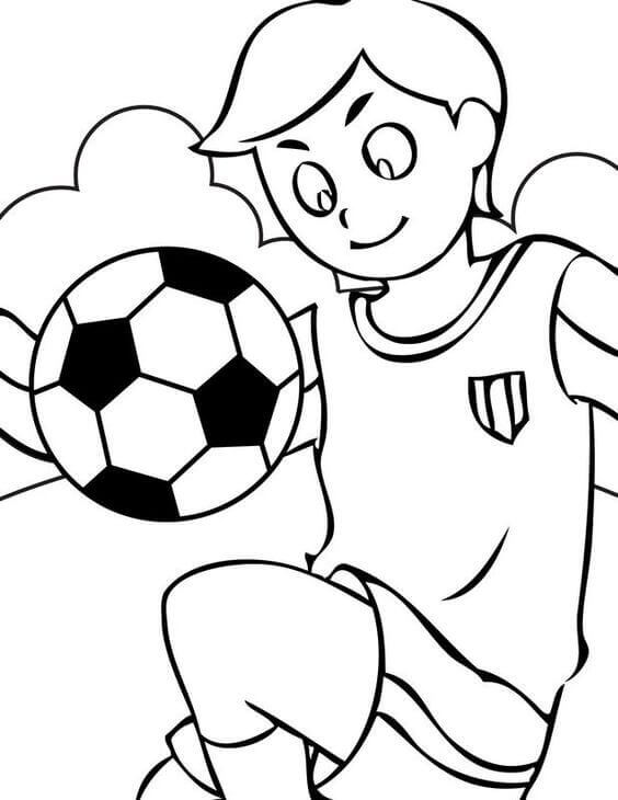 English Football Coloring Pages