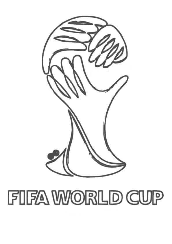 Fifa World Cup Coloring Pages