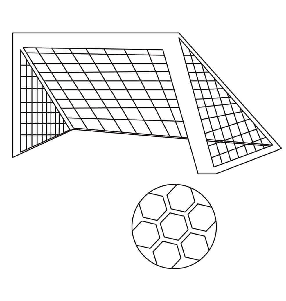 Football Stadium Coloring Pages To Print