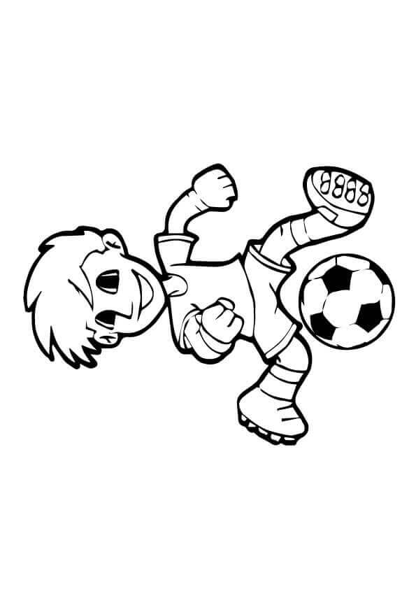 Free Football Coloring Images
