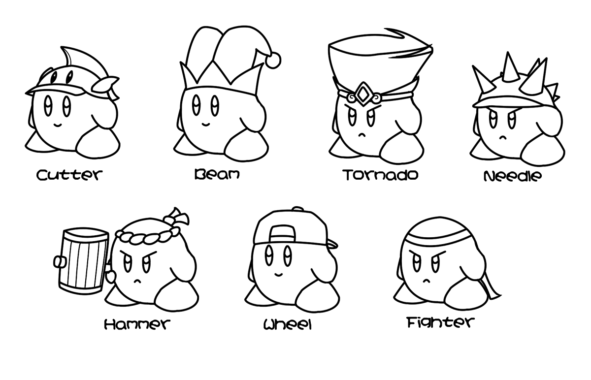 Free Kirby Coloring Pages To Print