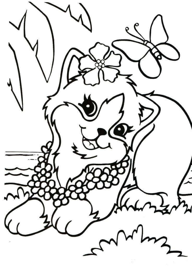 Terrible image intended for lisa frank coloring pages printable