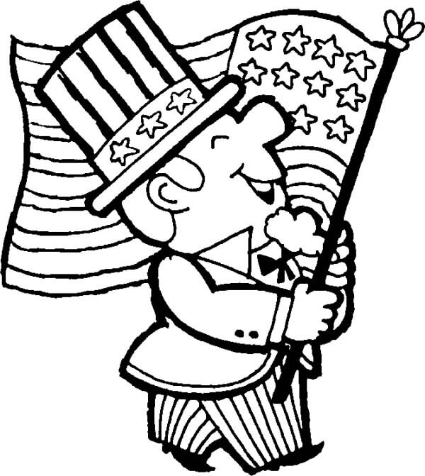 Free Memorial Day Coloring Pages Printable