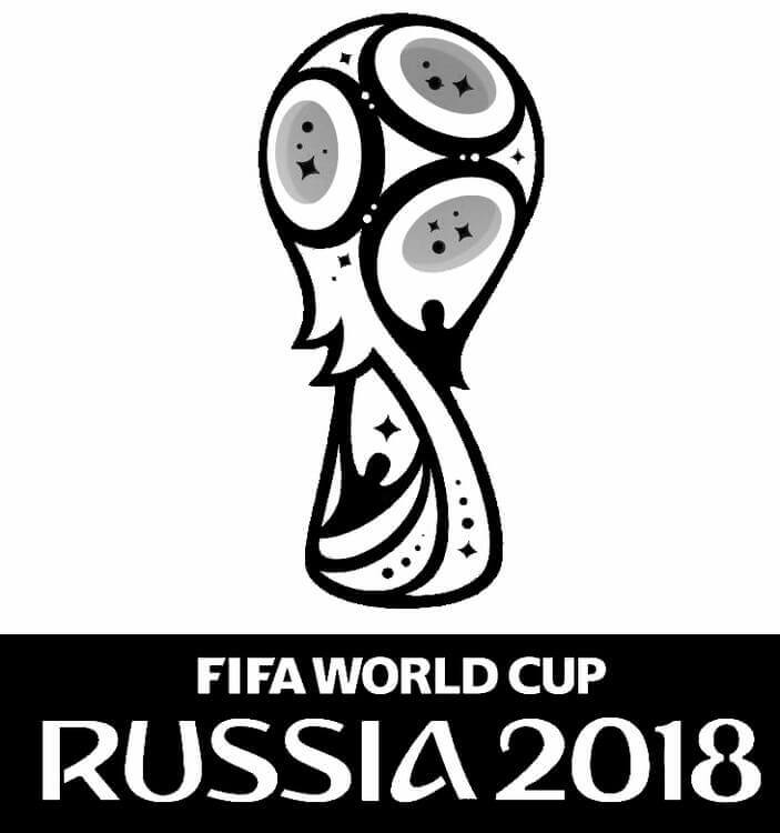 Free Printable FIFA World Cup 2018 Coloring Pages