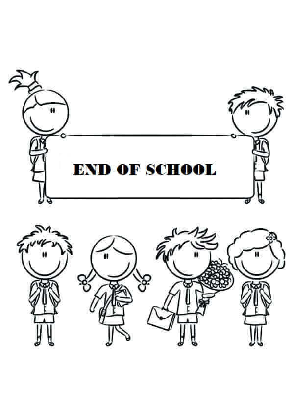 Free Printable Last Day Of School Coloring Pages