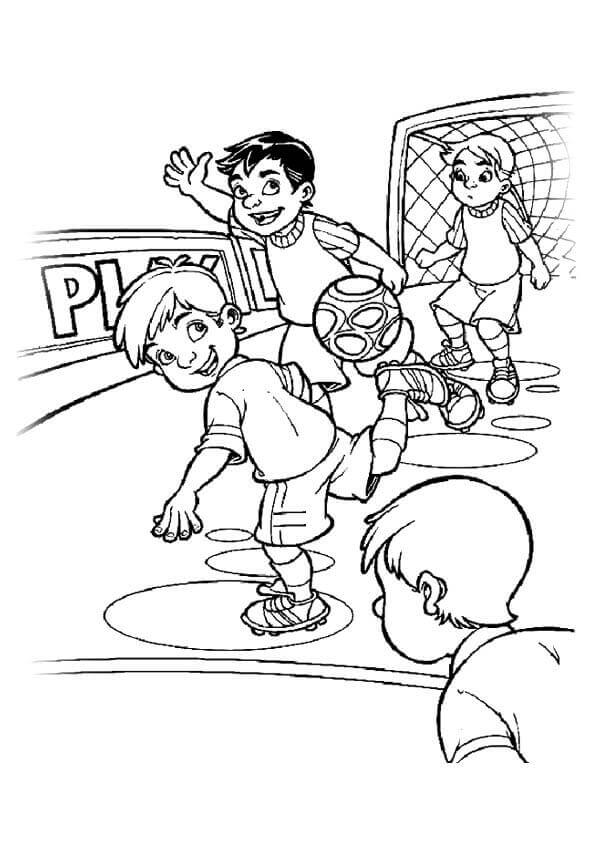 Free Printable Soccer Coloring Pages