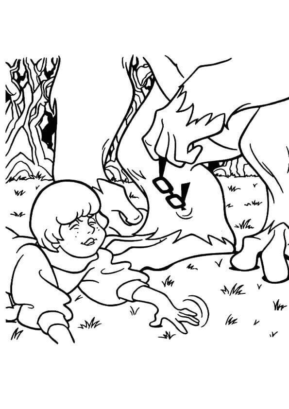 30 Free Printable Scooby Doo Coloring Pages