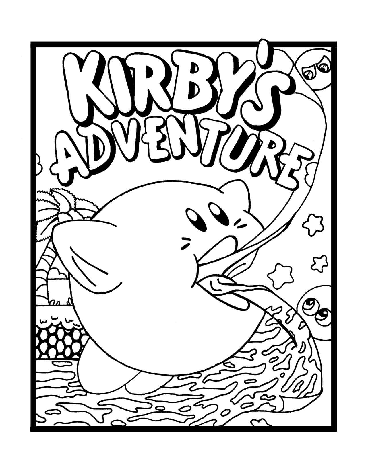 Kirby's Adventure Coloring Pages