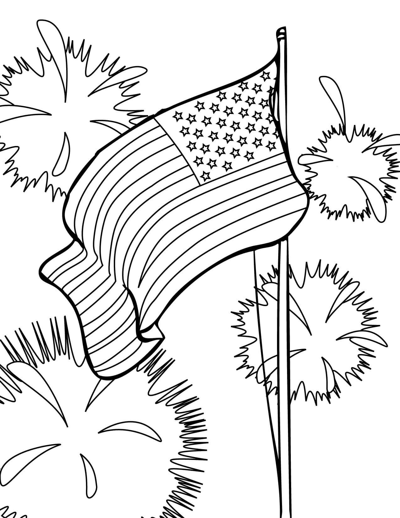 Memorial Day Coloring Images