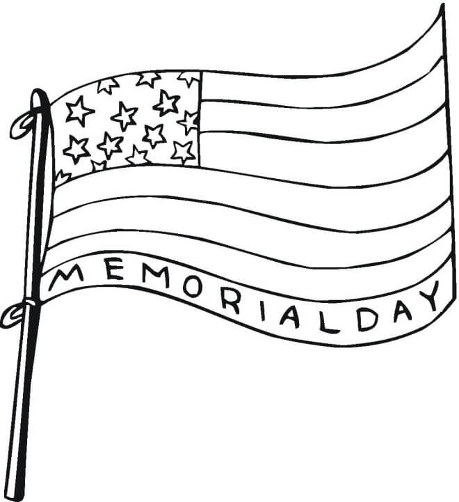 memorial day coloring pages printable - photo#3