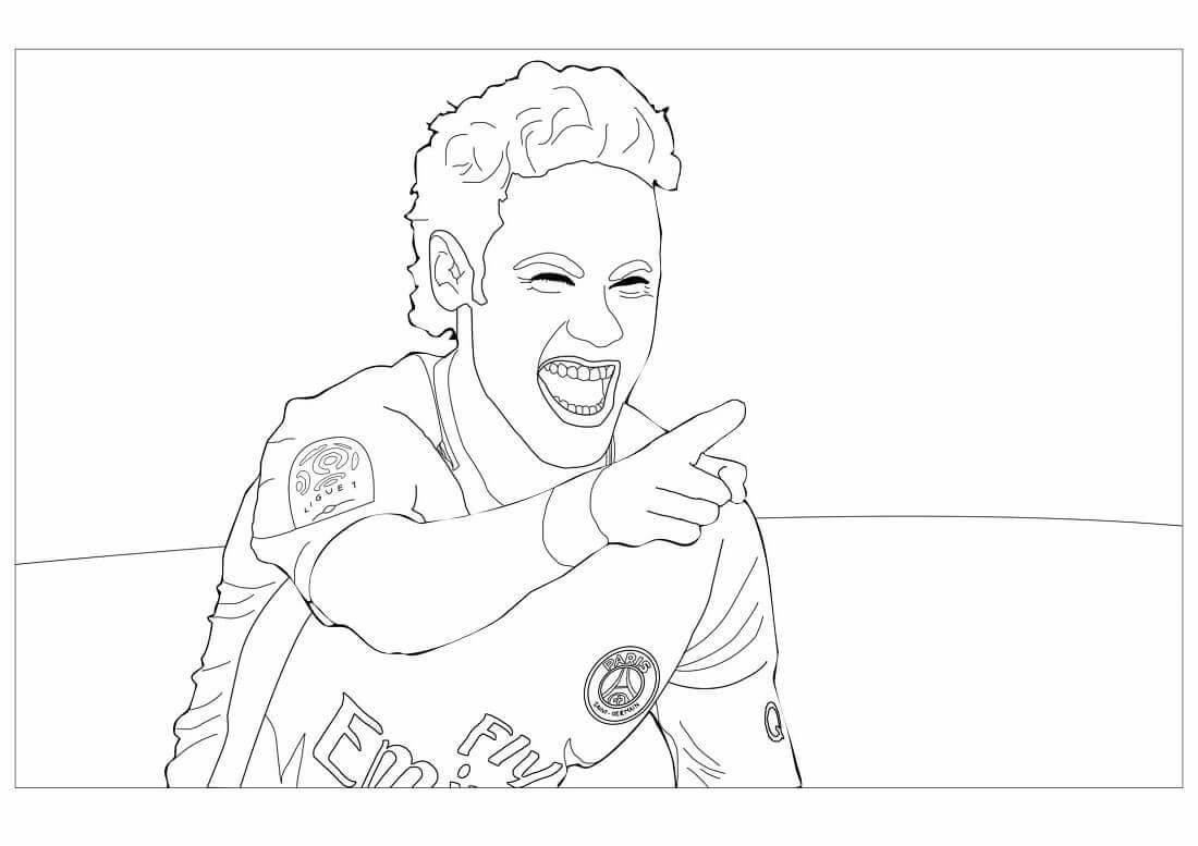 Free Printable FIFA World Cup Coloring