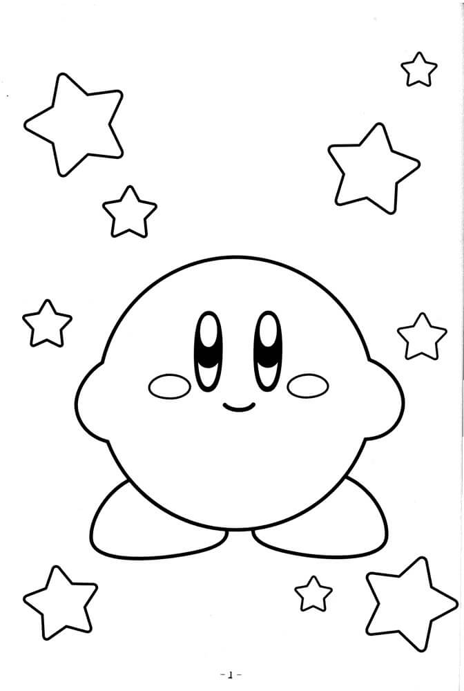 Nintendo Kirby Coloring Pages