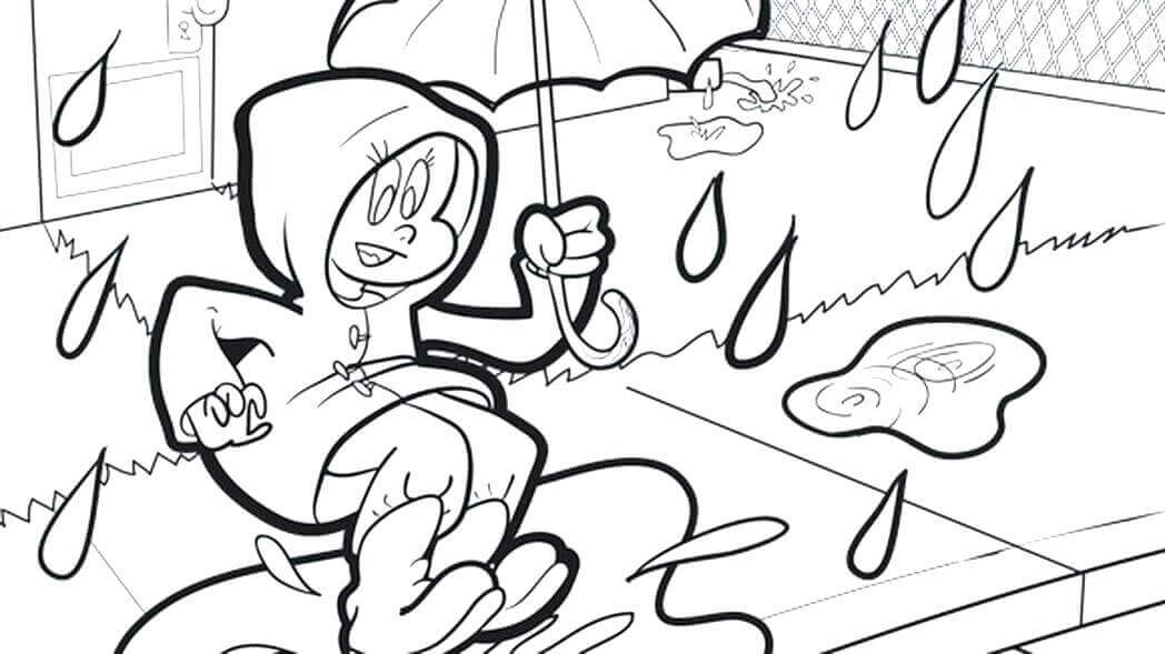 Rainy Day Coloring Printables