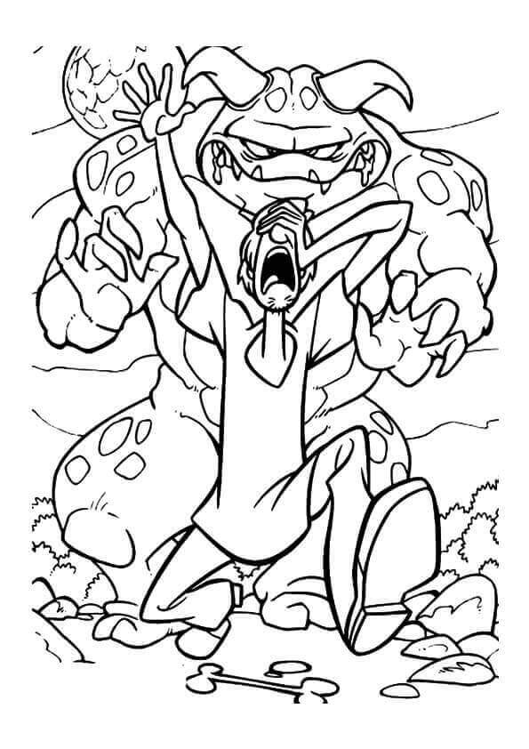 Scooby Doo Coloring Book