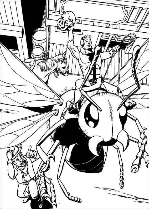 Ant Man Coloring Pictures