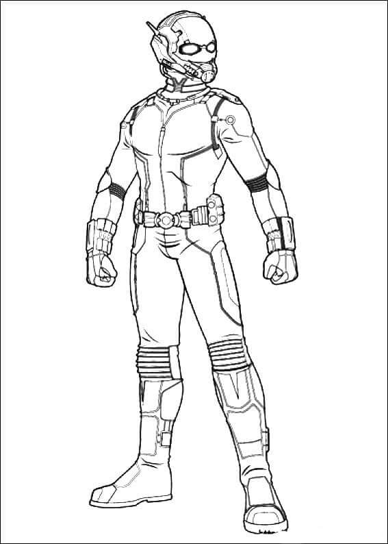 Ant Man Coloring Sheets