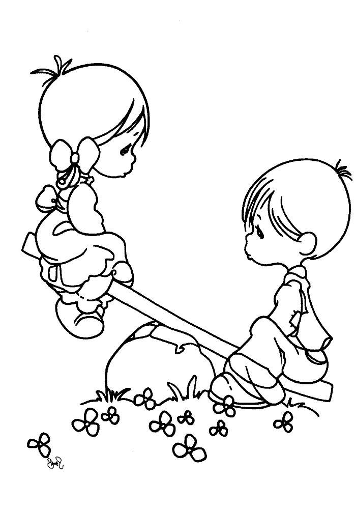 Childrens Day Coloring Pages Free Printable