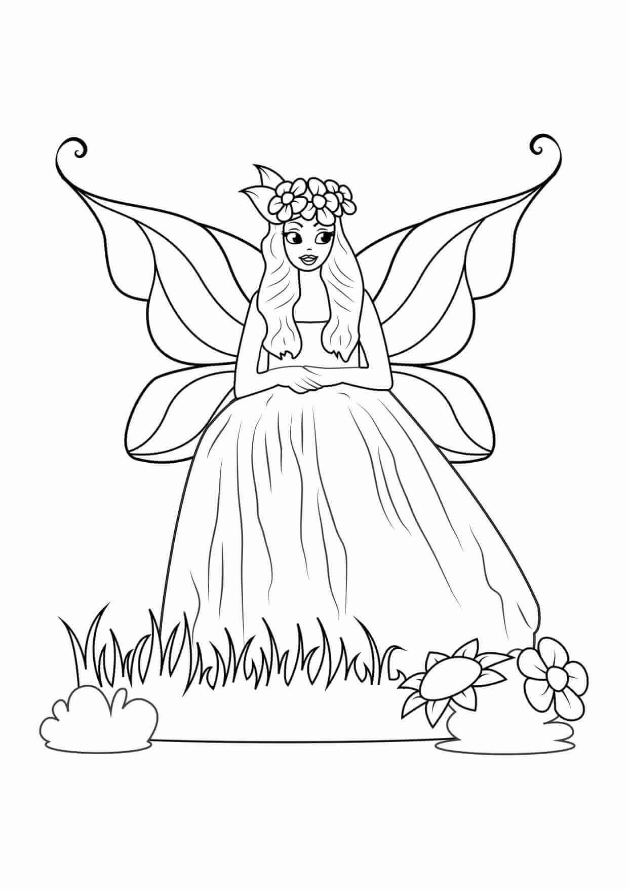 Coloring Pages For Girls Free Printable