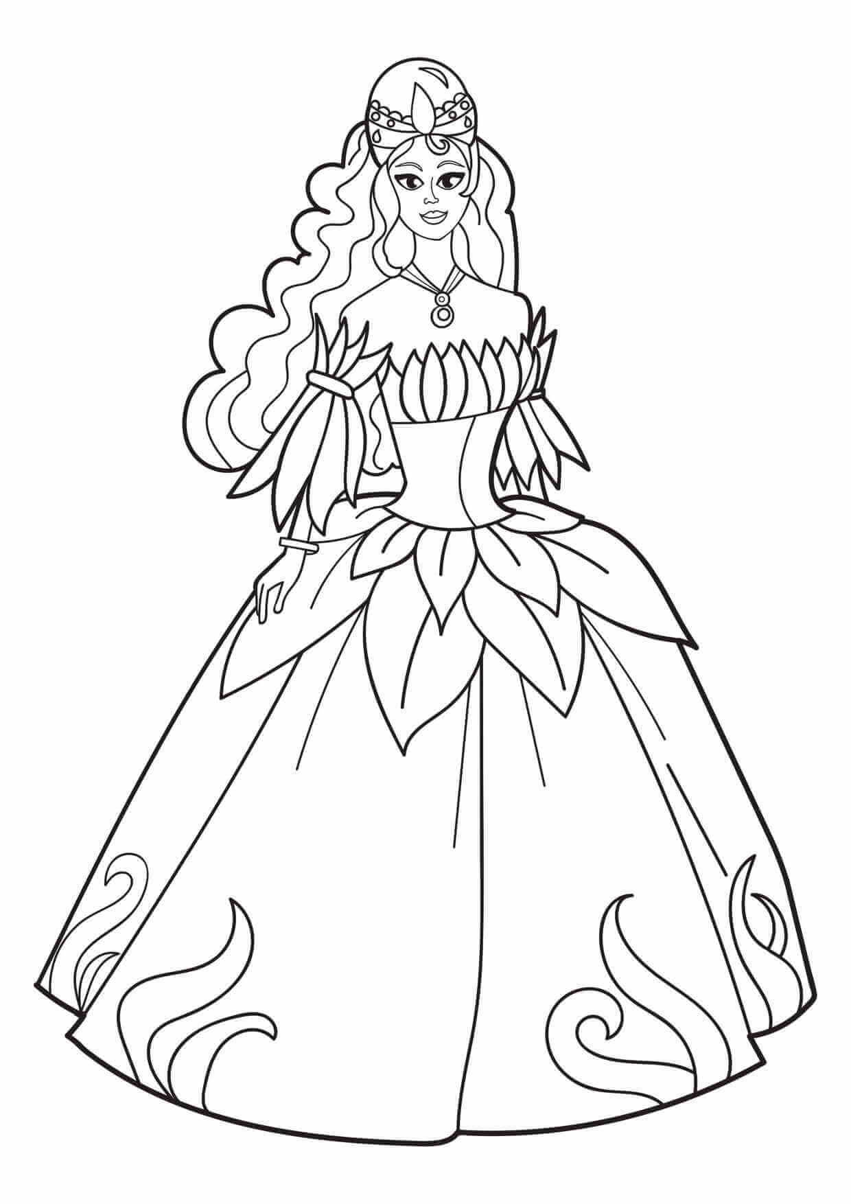Coloring Pages For Girls Free
