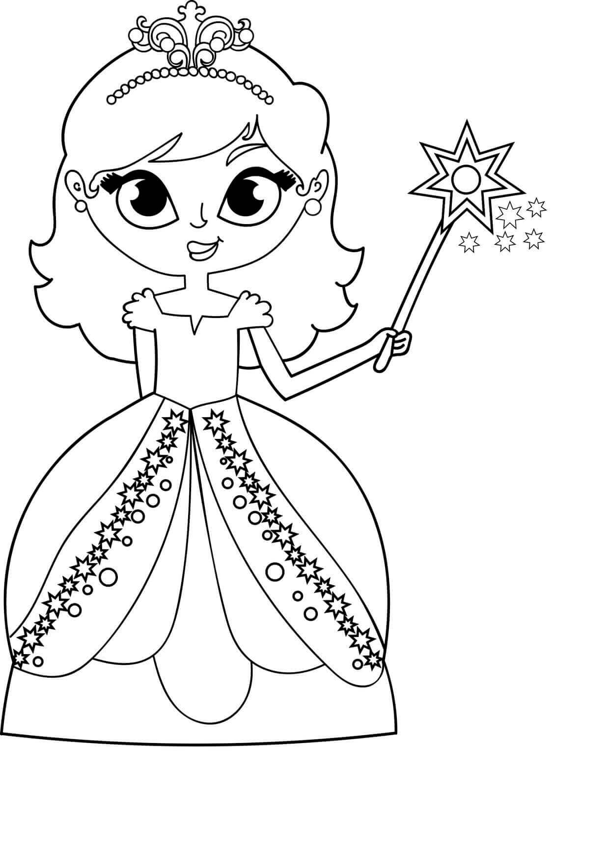 Coloring Sheets For Girls PDF