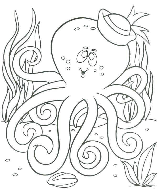 - Free Printable Ocean Coloring Pages (Under The Sea)
