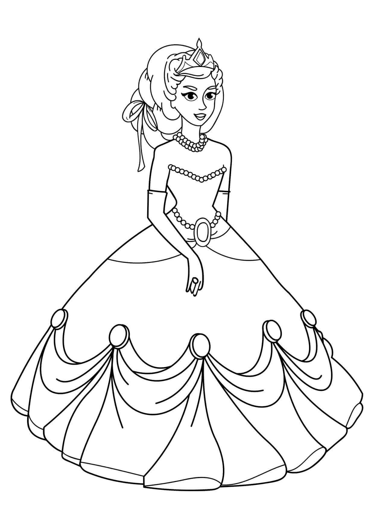 Free Printable Girls Coloring Pages