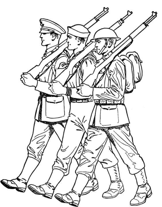 Free Printable Happy Veterans Day Coloring Pages