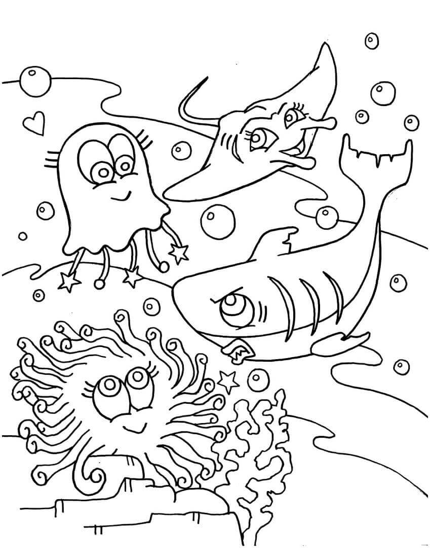 Free Printable Sea Coloring Pages