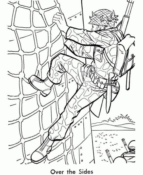 Free Printable Veterans Day Coloring Sheets