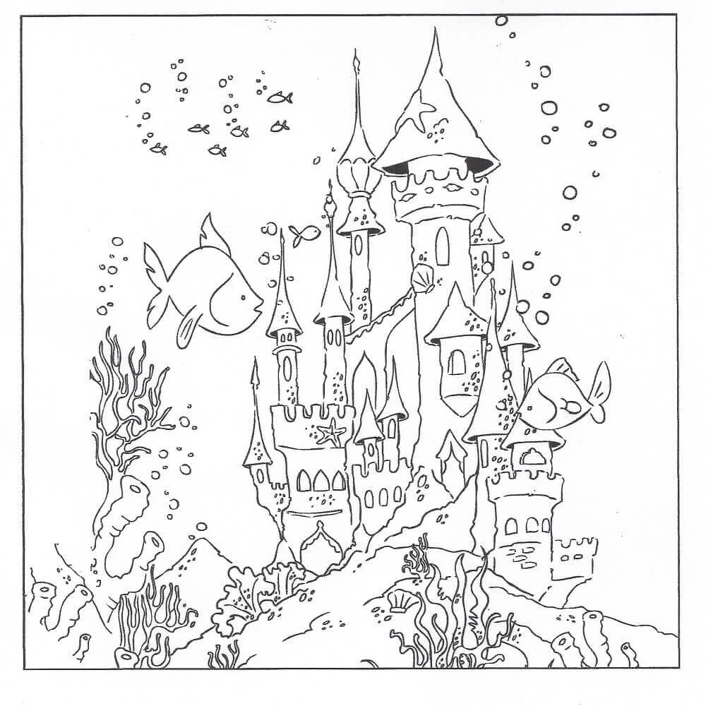 Free Under The Ocean Coloring Pages