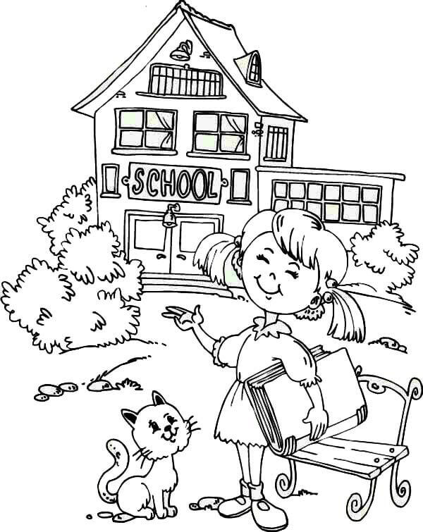 Going Back To School Coloring Pages