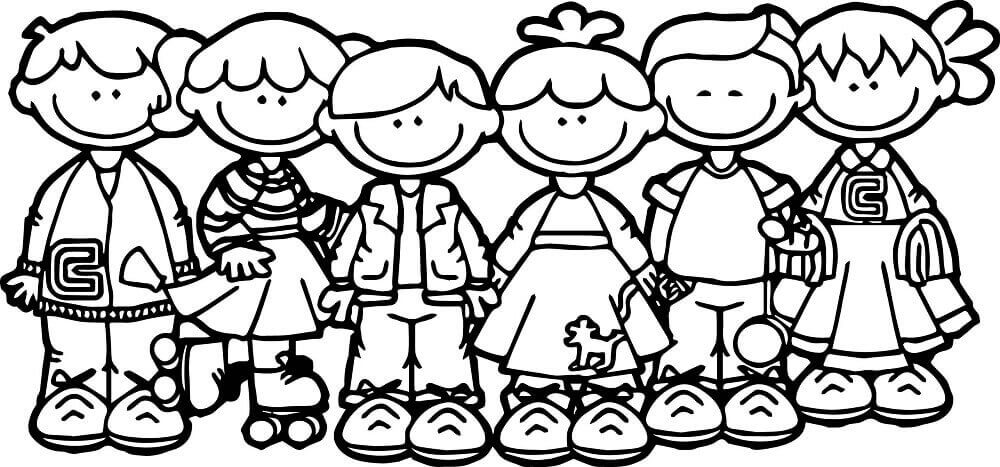 Happy Childrens Day Coloring Images Printable