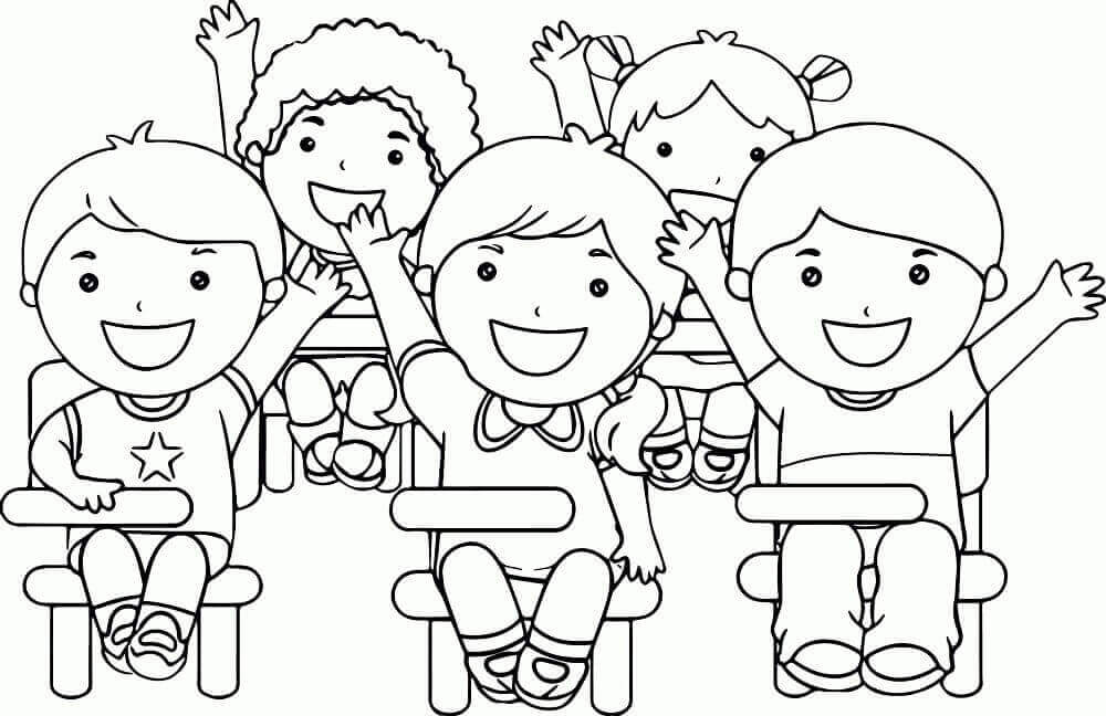 Happy Childrens Day Coloring Sheets