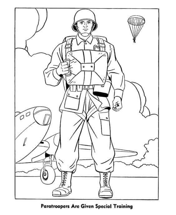 Happy Veterans Day Coloring Pictures To Print