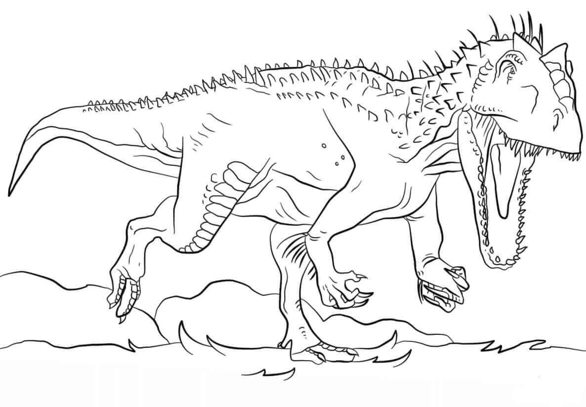 Indoraptor Coloring Pages