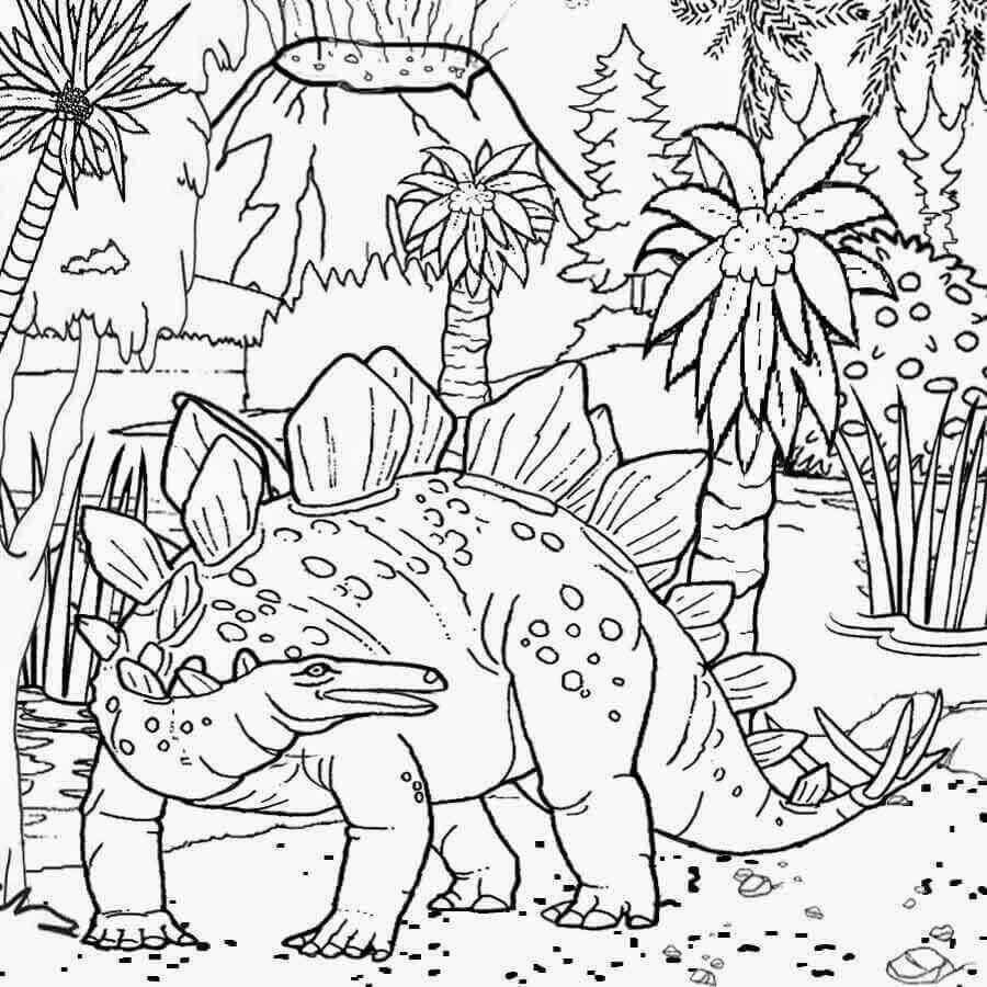 Free Printable Jurassic World Coloring