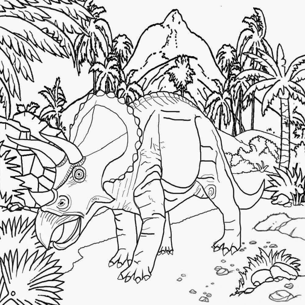Jurassic World Coloring Sheets To Print