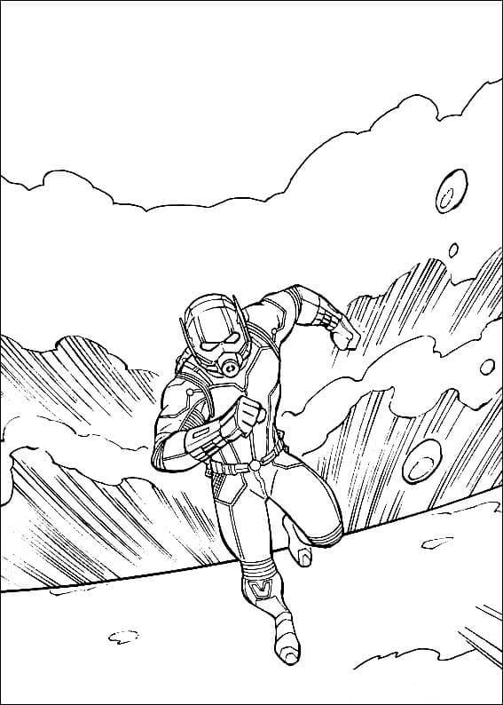Marvel Ant Man And The Wasp Coloring Sheets