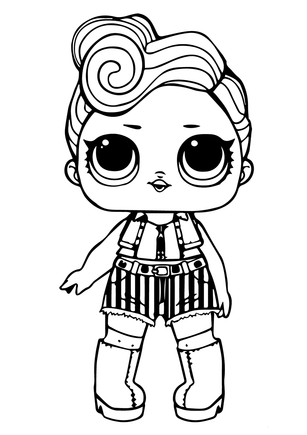 photograph relating to Lol Doll Printable called 40 Totally free Printable LOL Ponder Dolls Coloring Internet pages