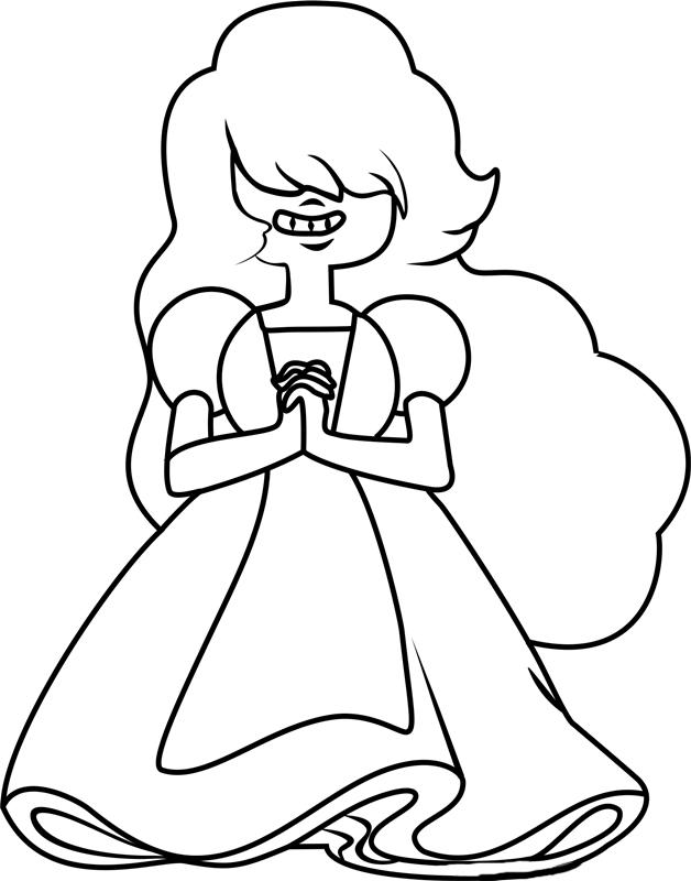 Steven Universe Coloring Pictures Sapphire